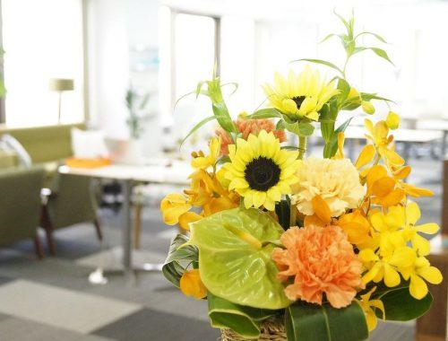 Belle décoration d'intérieur en fleur