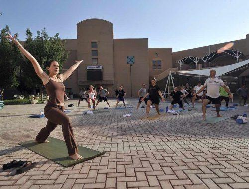 cours de yoga tonique à Nantes