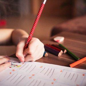 un jeune enfant au coeur d'une école montessori