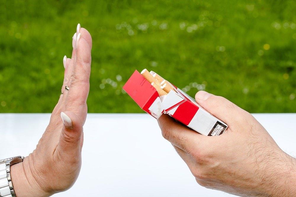 Arrêt du tabac durable pour cette dame